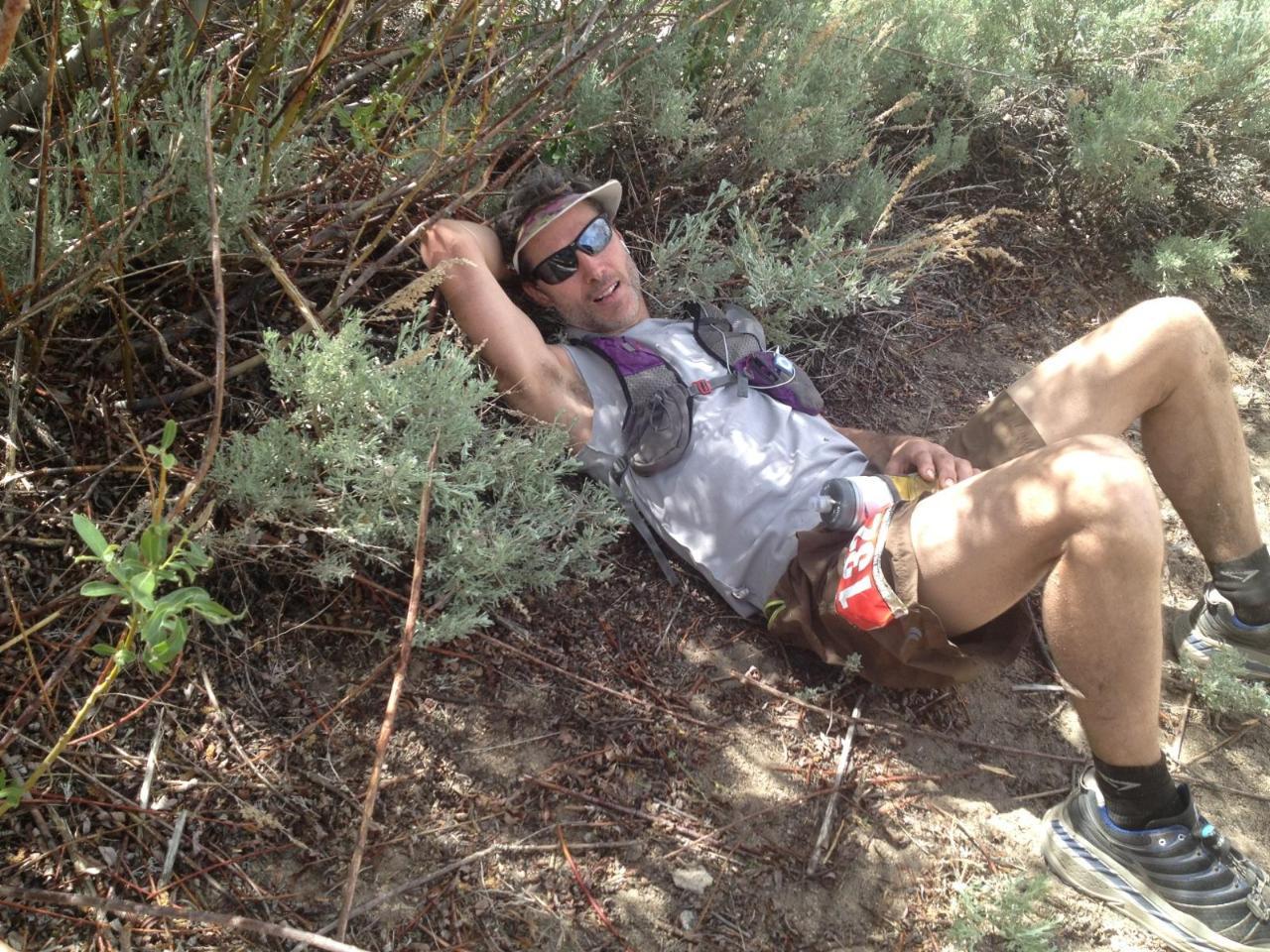 Paul during the 2014 Bishop High Sierra 50 miler