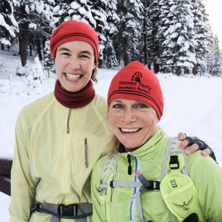 Assistant Run Director Helen Pelster and Volunteer Coordinator Lesley Dellamonica
