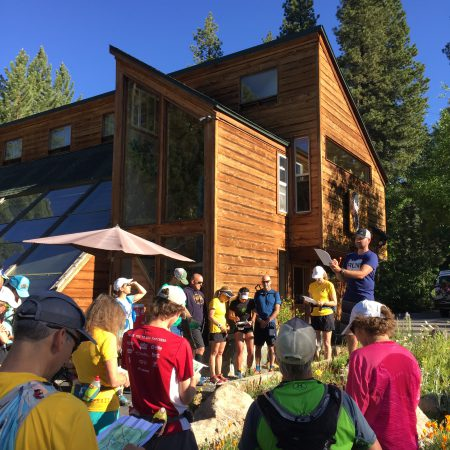 Sean giving the course briefing and warning us all of the infamous KB Powerline!