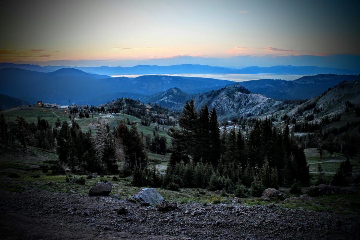 Emigrant Pass, Squaw Valley. Photo: Nick Martin