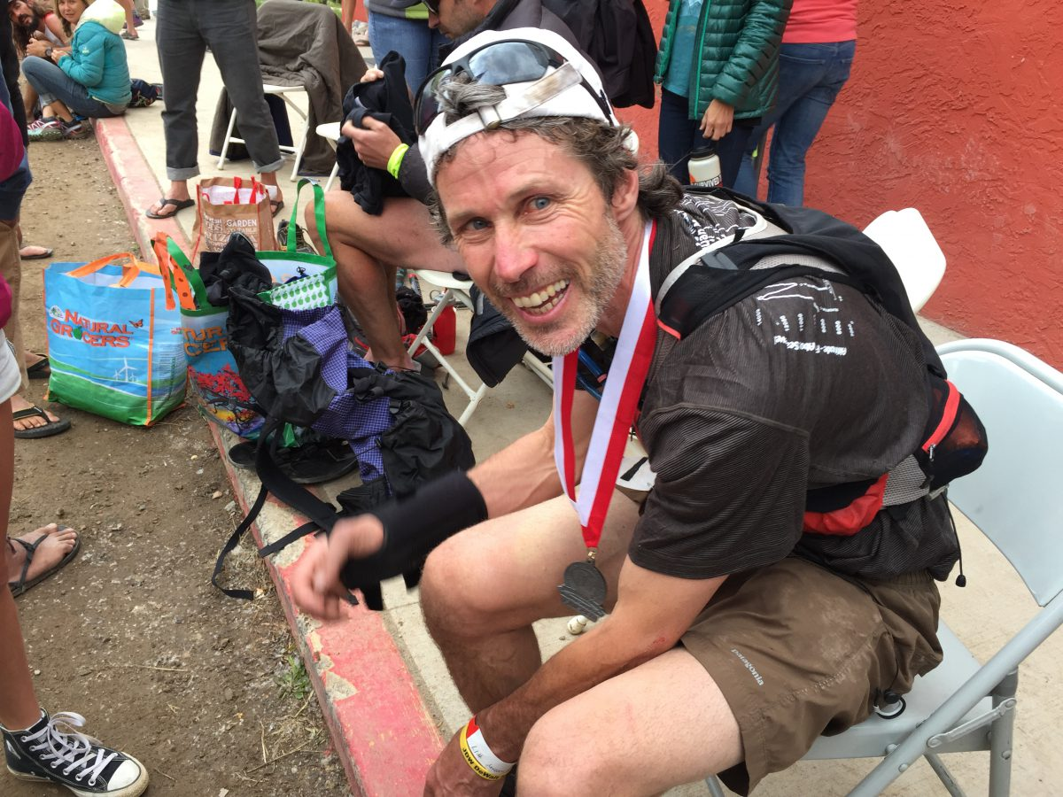 Paul, just after finishing the 2015 Hardrock. (Photo: Gretchen Brugman)