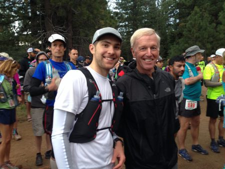 Eric and Scotty Mills at the start