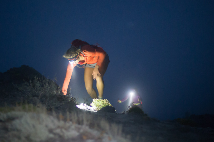 Runners navigate the course in the dark (Photo: Greg Walker)