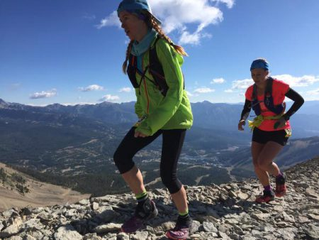 Anna Mae and Hillary Allen, Mile 19. Photo courtesy irunfar.com