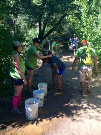 El Dorado creek sponge bath photo: Andrea Abel
