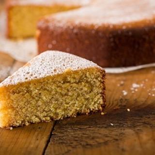 Almond Polenta Cake. Photo: Lorenzo Wimmer